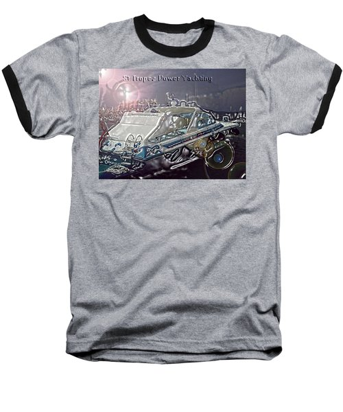 Yacht Art Baseball T-Shirt