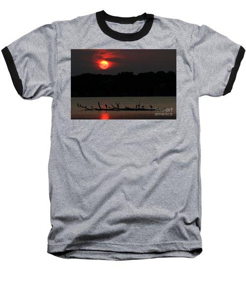 0016 White Rock Lake Dallas Texas Baseball T-Shirt