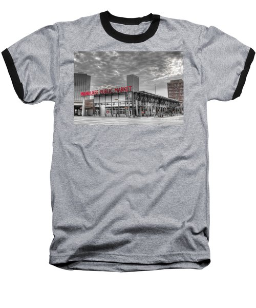 0038 Milwaukee Public Market Baseball T-Shirt