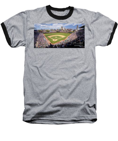 0100 Wrigley Field - Chicago Illinois Baseball T-Shirt