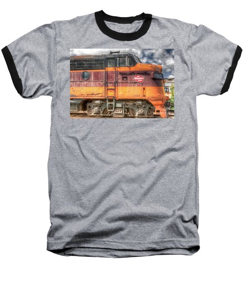 0119 The Milwaukee Road 2 Baseball T-Shirt