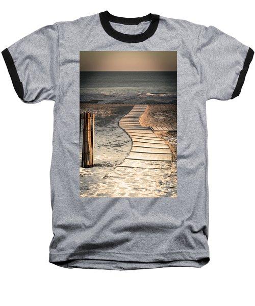 0160 Evanston Boardwalk Baseball T-Shirt