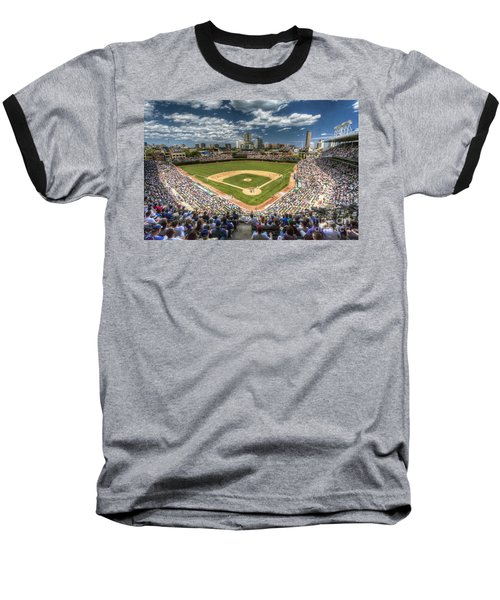 0234 Wrigley Field Baseball T-Shirt