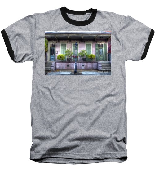 0267 French Quarter 5 - New Orleans Baseball T-Shirt