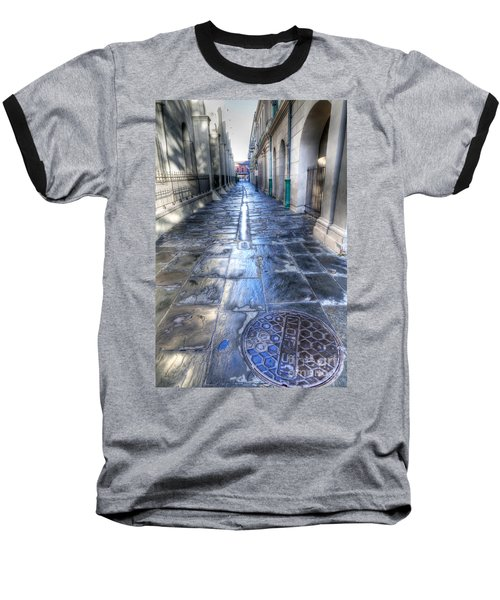 0270 French Quarter 2 - New Orleans Baseball T-Shirt