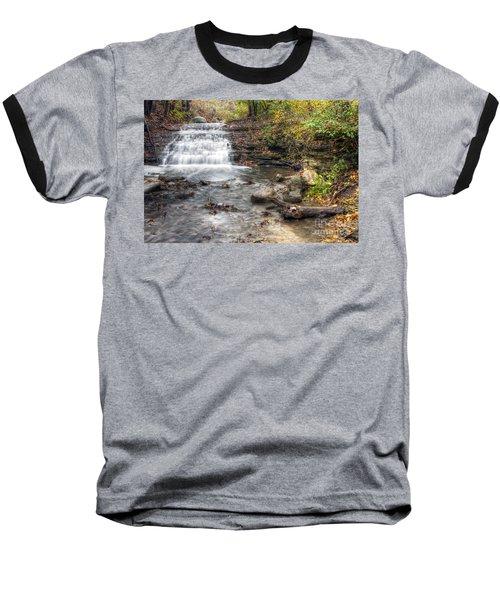0278 South Elgin Waterfall Baseball T-Shirt