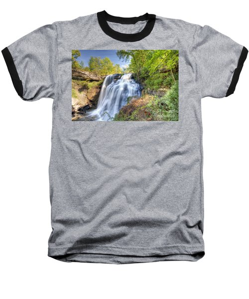 0302 Cuyahoga Valley National Park Brandywine Falls Baseball T-Shirt
