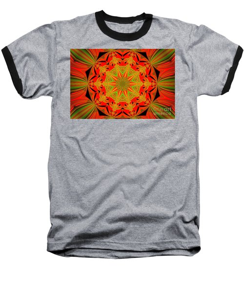 Brighten Your Day.unique And Energetic Art Baseball T-Shirt