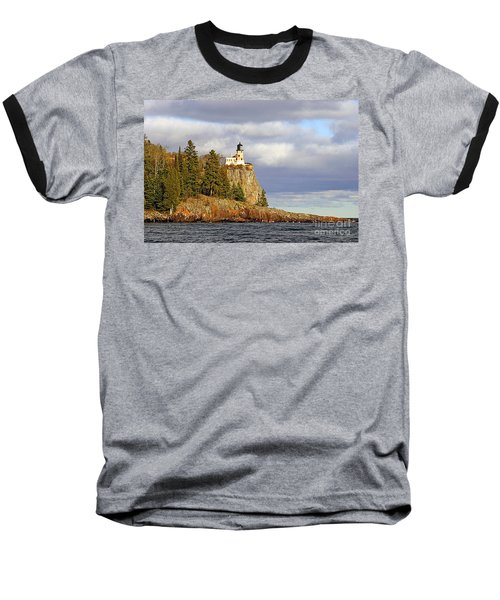 0376 Split Rock Lighthouse Baseball T-Shirt