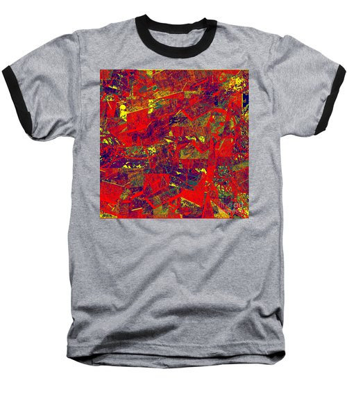 0384 Abstract Thought Baseball T-Shirt