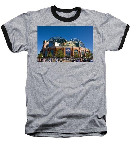 0386 Miller Park Milwaukee Baseball T-Shirt