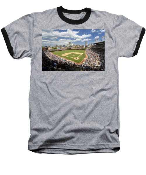 0415 Wrigley Field Chicago Baseball T-Shirt