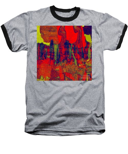 0486 Abstract Thought Baseball T-Shirt
