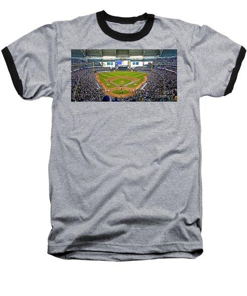 0546 Nlds Miller Park Milwaukee Baseball T-Shirt
