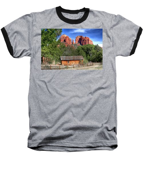 0682 Red Rock Crossing - Sedona Arizona Baseball T-Shirt