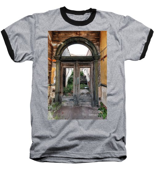 0707 Jerome Ghost Town Baseball T-Shirt