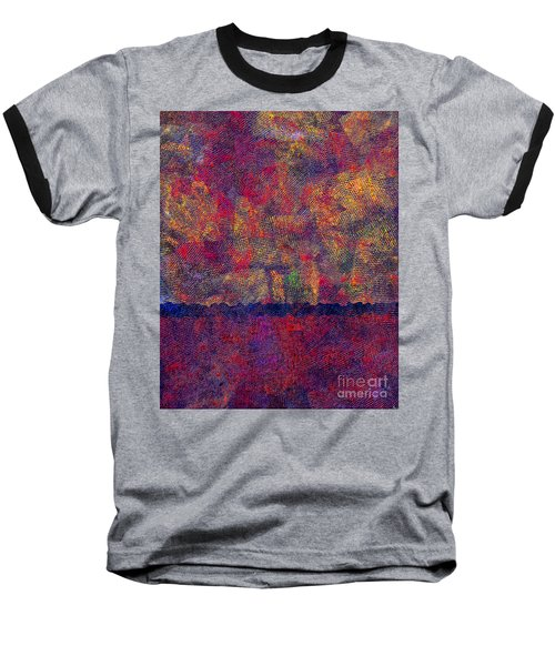 0799 Abstract Thought Baseball T-Shirt