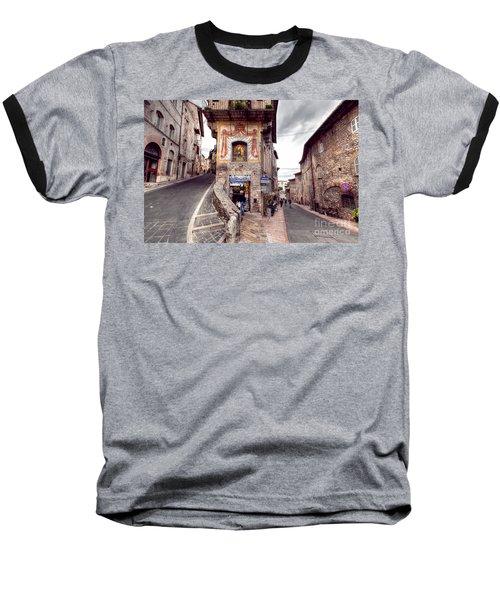 0801 Assisi Italy Baseball T-Shirt