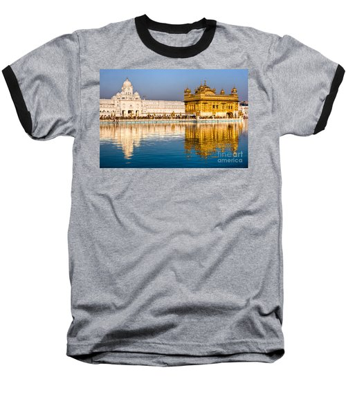 Golden Temple In Amritsar - Punjab - India Baseball T-Shirt