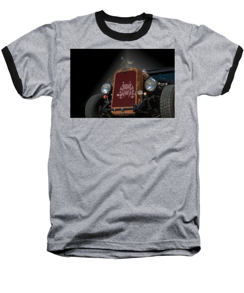 1931 Nash Coupe Hot Rod Baseball T-Shirt by Tim McCullough
