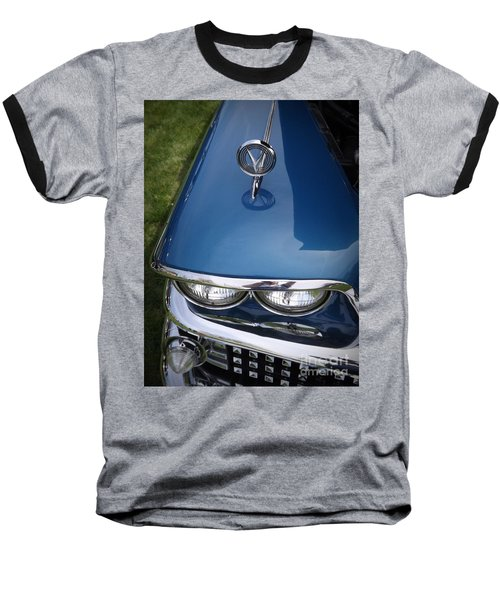 1958 Buick Super 56r Baseball T-Shirt by Sara  Raber