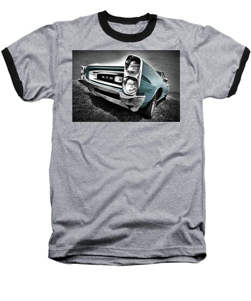 1966 Pontiac Gto Baseball T-Shirt by Gordon Dean II