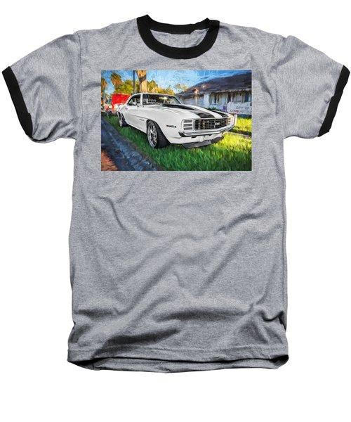 1969 Chevy Camaro Rs Painted  Baseball T-Shirt