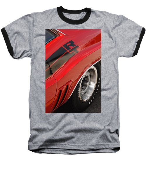 1970 Dodge Challenger R/t Baseball T-Shirt by Gordon Dean II