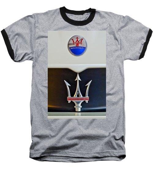 2005 Maserati Mc12 Hood Emblem Baseball T-Shirt