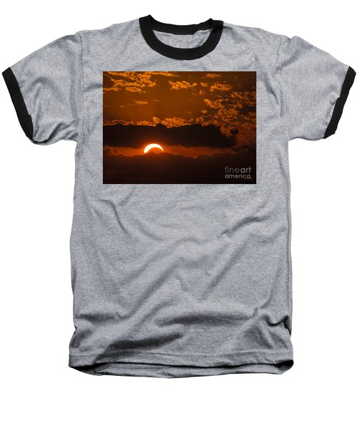 2012 Solar Eclipse Baseball T-Shirt