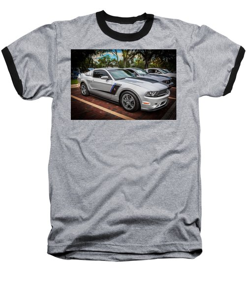 2012 Ford Roush Stage 3 Mustang Rs3 Painted  Baseball T-Shirt