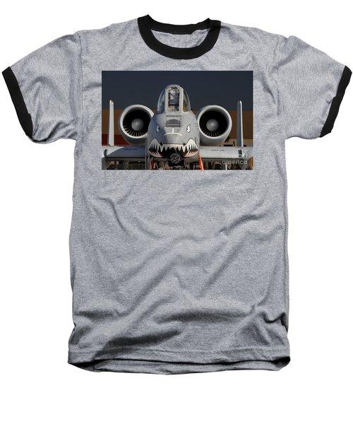 A-10 Warthog Baseball T-Shirt