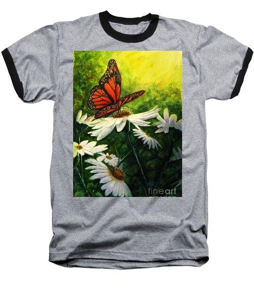 A Life-changing Encounter Baseball T-Shirt by Hazel Holland