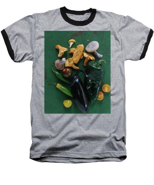 A Pile Of Vegetables Baseball T-Shirt