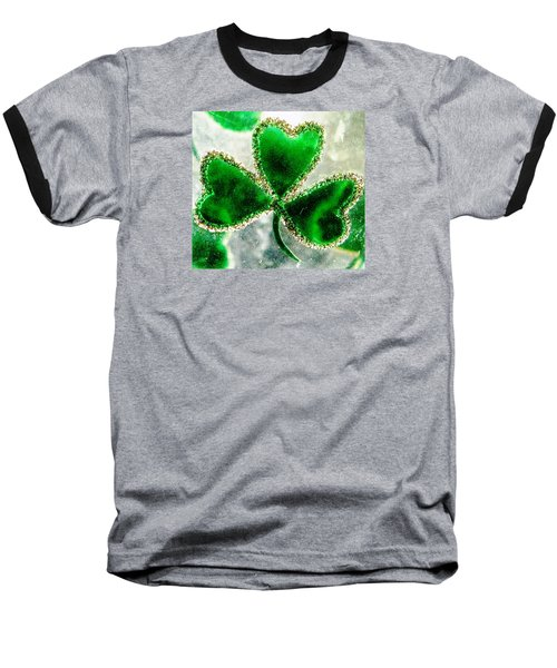 A Shamrock On Ice Baseball T-Shirt