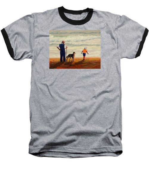 A Wish To The Waves, Peru Impression Baseball T-Shirt