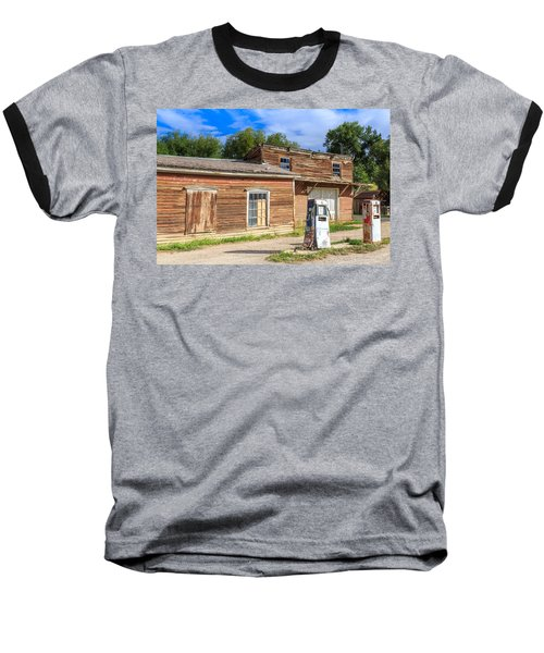 Abandoned Mining Buildings Baseball T-Shirt