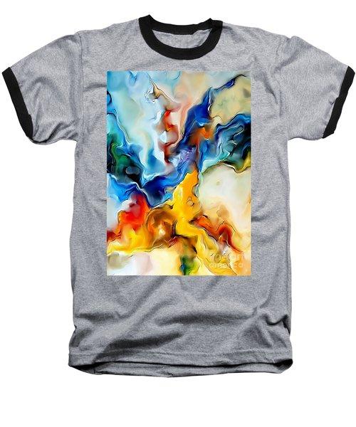 Abstraction 599-11-13 Marucii Baseball T-Shirt
