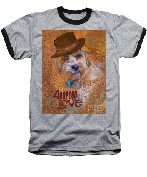 Adopted With Love Baseball T-Shirt