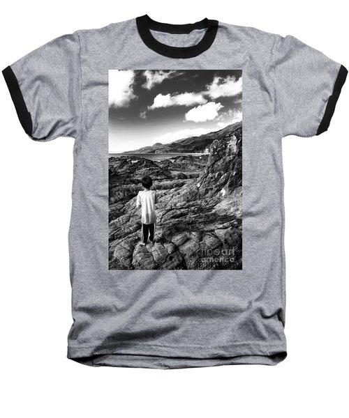 Adventure Awaits Baseball T-Shirt