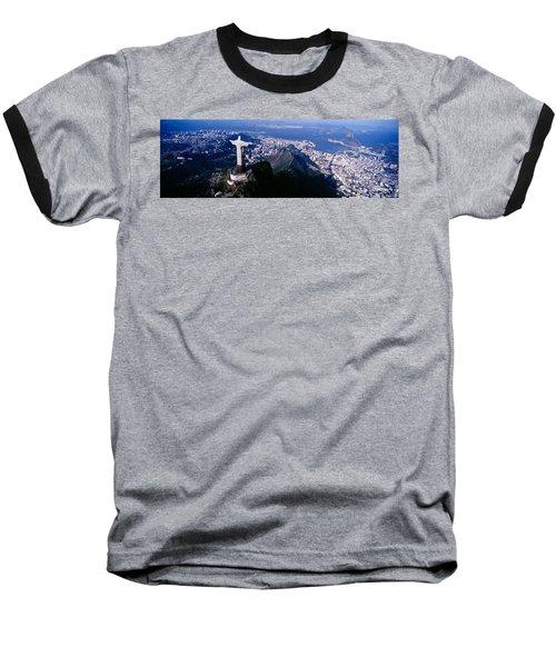 Aerial, Rio De Janeiro, Brazil Baseball T-Shirt