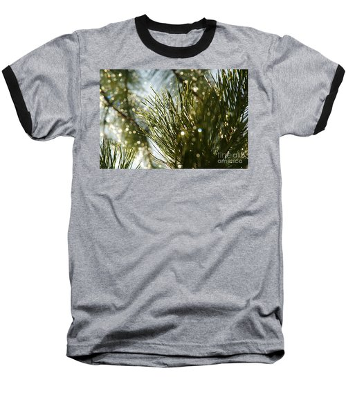 After The Rain Baseball T-Shirt by Loni Collins