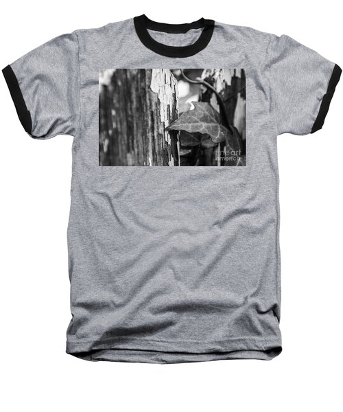 Along The Fence Baseball T-Shirt by JT Lewis
