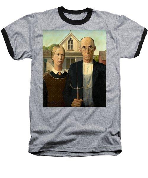 American Gothic Baseball T-Shirt