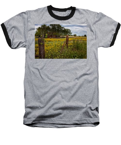 An Old Shed Baseball T-Shirt