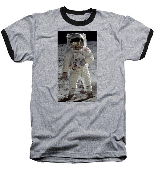 Apollo 11 Baseball T-Shirt