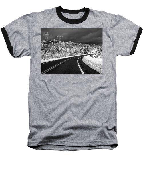 Arizona Snow 2 Baseball T-Shirt