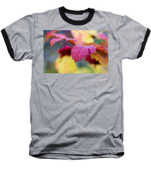Arrowwood Leaf - Featured 3 Baseball T-Shirt