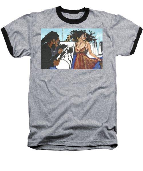 Artist At Work Baseball T-Shirt