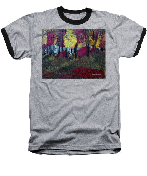 Autumn Peak Baseball T-Shirt
